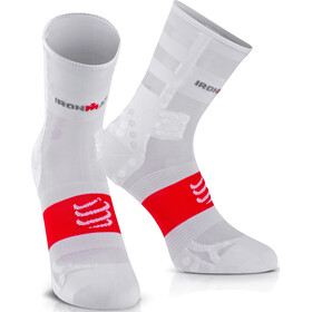 Compressport ProRacing V3 UltraLight - Chaussettes course à pied - Ironman 2017 blanc